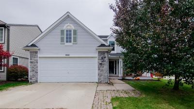 Single Family Home For Sale: 1661 Scio Ridge Road