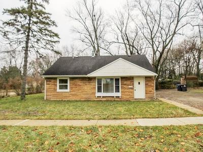 Ann Arbor Single Family Home For Sale: 3550 Carolyn Street