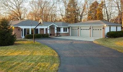 Saline Single Family Home For Sale: 9528 Woodbend Drive