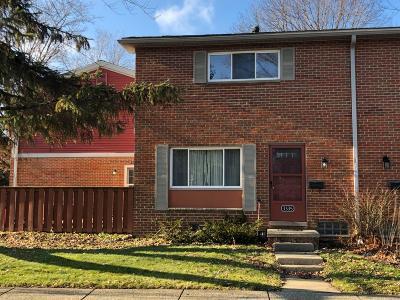 Ann Arbor Condo/Townhouse For Sale: 3335 Williamsburg Road