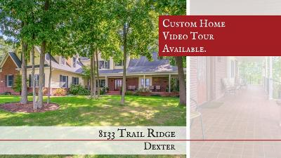Dexter Single Family Home For Sale: 8133 Trail Ridge