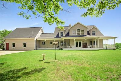 Chelsea Single Family Home For Sale: 14400 McKinley Road