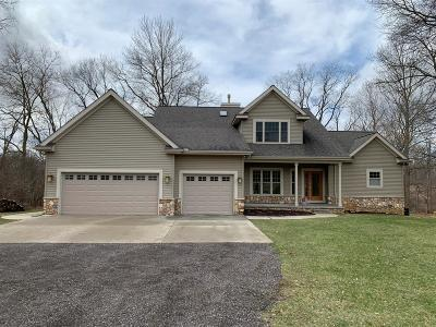 Dexter Single Family Home For Sale: 7727 Huron River Dr