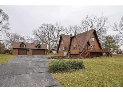 Whitmore Lake Single Family Home For Sale: 260 East Shore Drive