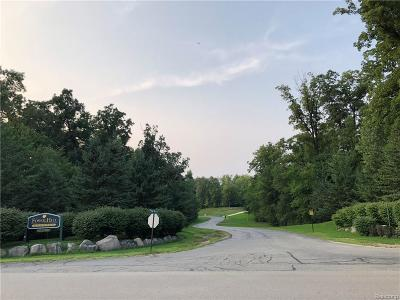 Whitmore Lake Residential Lots & Land For Sale: 10452 East Fossil Hill Crt N