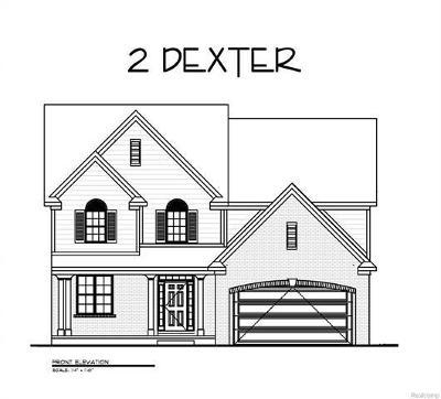 Dexter Single Family Home For Sale: 3204 Eastridge Drive