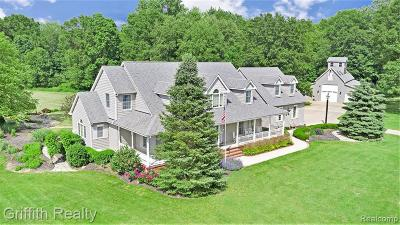 Pinckney Single Family Home For Sale: 15804 Dream Catcher