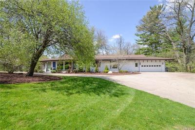 Ann Arbor MI Single Family Home For Sale: $899,999