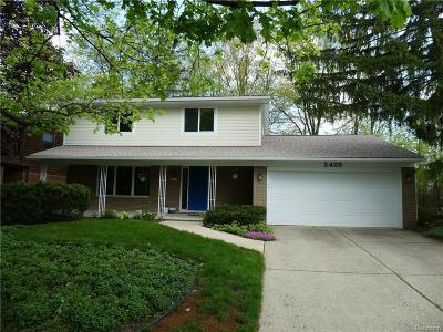 Ann Arbor MI Single Family Home For Sale: $434,900