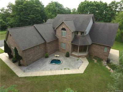 Whitmore Lake Single Family Home For Sale: 7679 Kearney Rd