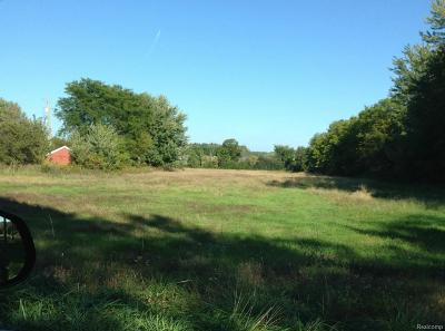 Ypsilanti Residential Lots & Land For Sale: Whittaker Rd S