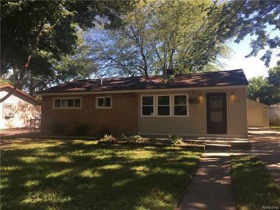 Ypsilanti Single Family Home For Sale: 936 Davis St