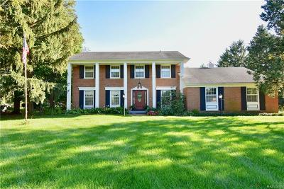 Saline Single Family Home For Sale: 3363 Brassow Rd