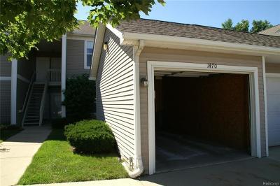 Ann Arbor Condo/Townhouse For Sale: 1470 Fox Pointe Circle