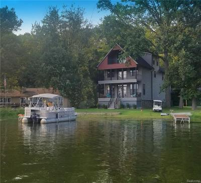 Pinckney Single Family Home For Sale: 5298 Edgelake Dr