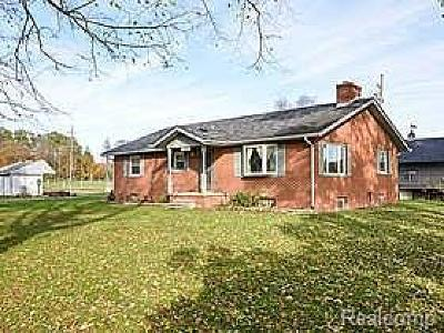 Pinckney Single Family Home For Sale: 8381 Pingree Rd