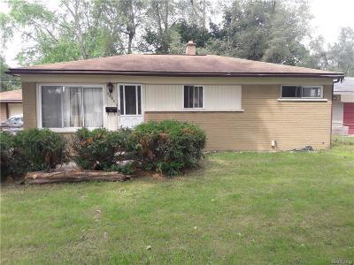 Ypsilanti Single Family Home For Sale: 2065 Crittendon Street St