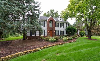 Saline Single Family Home For Sale: 3090 Burr Stone Crt