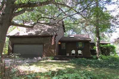 Whitmore Lake Single Family Home For Sale: 6309 Riverdale Dr