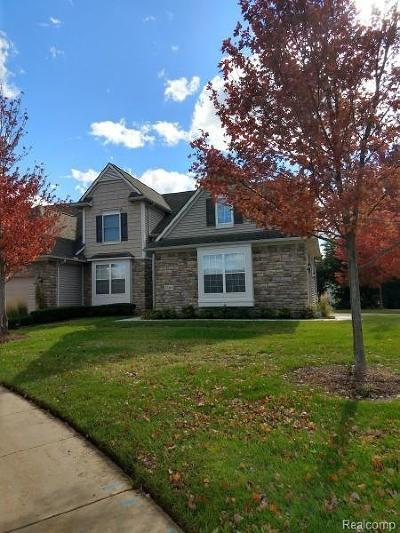 Ann Arbor Condo/Townhouse For Sale: 5569 Gallery Park Dr #Unit#52