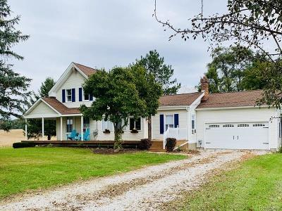 Manchester Single Family Home For Sale: 9015 Eisman Rd