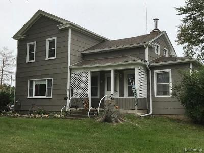 Chelsea Single Family Home For Sale: 9850 Beeman