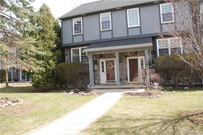 Ann Arbor MI Condo/Townhouse For Sale: $299,900