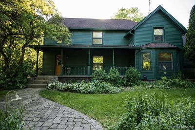 Ann Arbor Single Family Home For Sale: 2505 Whitmore Lake Rd