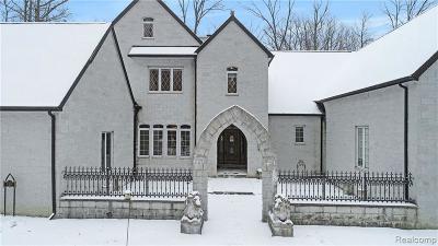 Ann Arbor Single Family Home For Sale: 6394 N Maple Rd