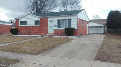 Ypsilanti Single Family Home For Sale: 2285 George Ave