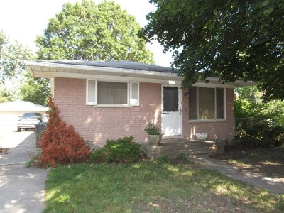 Taylor Single Family Home For Sale: 8327 Syracuse