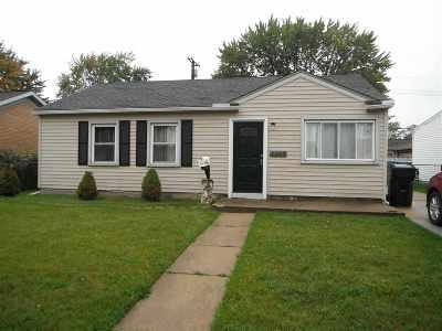 Trenton Single Family Home For Sale: 3286 S Stella