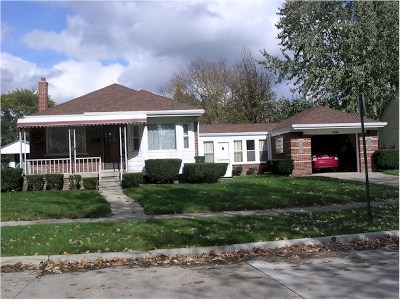 Allen Park Single Family Home For Sale: 14562 Oceana