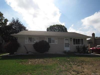 Taylor Single Family Home For Sale: 25537 Baker