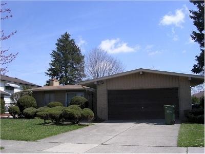 Allen Park Single Family Home For Sale: 10907 Seavitt