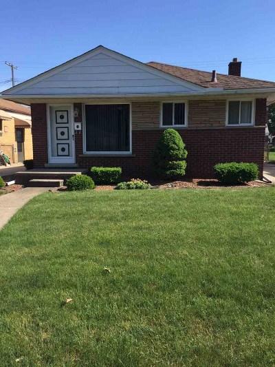 Allen Park Single Family Home For Sale: 17623 Leslie