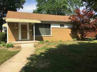 Allen Park Single Family Home For Sale: 9996 Becker