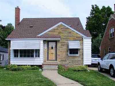 Allen Park Single Family Home For Sale: 6627 Shenandoah