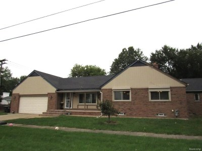 Taylor Single Family Home For Sale: 9890 Clippert