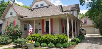 Flushing Single Family Home For Sale: 118 N Hazelton Street