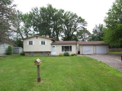 Flushing Single Family Home For Sale: 1448 E Pierson Road