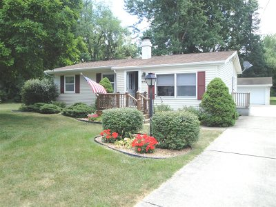 Flint Single Family Home For Sale: 4450 Mollwood Drive