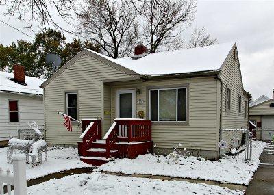 Flint Single Family Home For Sale: 1618 Knapp Avenue