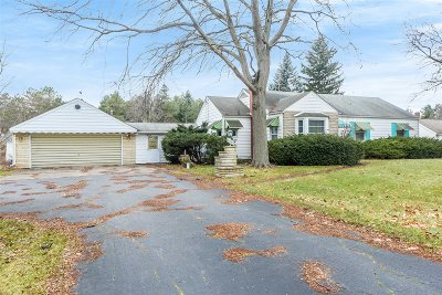 Flushing Single Family Home For Sale: 4349 Webster Road