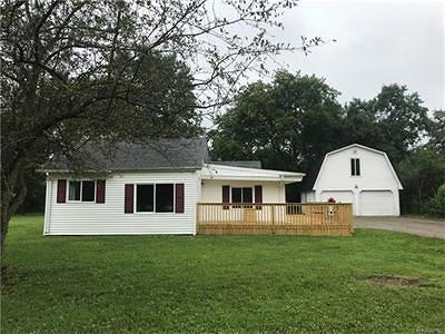 Mt. Morris Single Family Home For Sale: 5429 Bangor