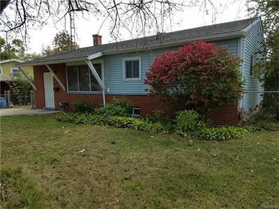 Mt. Morris Single Family Home For Sale: 1457 Flamingo