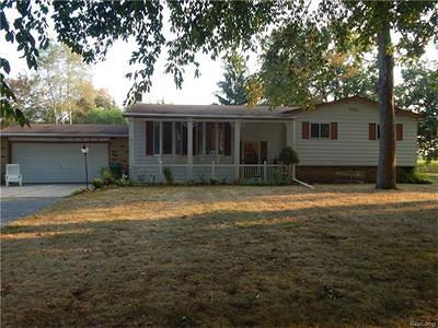 Mt. Morris Single Family Home For Sale: 3069 Merwood