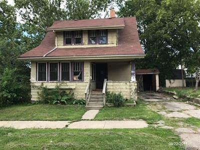 Flint Single Family Home For Sale: 2210 Reid