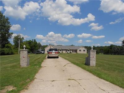 Flushing Single Family Home For Sale: 6386 Carpenter