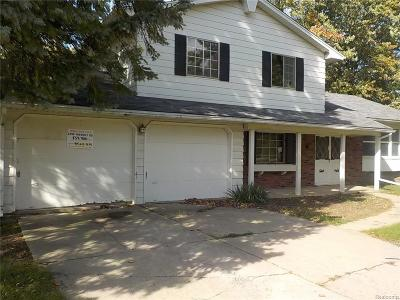 Clayton Single Family Home For Sale: 2248 Nichols